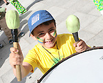 Emran Mustafa at the Samba Festival on West Street....Photo NEWSFILE/Jenny Matthews.(Photo credit should read Jenny Matthews/NEWSFILE)....This Picture has been sent you under the condtions enclosed by:.Newsfile Ltd..The Studio,.Millmount Abbey,.Drogheda,.Co Meath..Ireland..Tel: +353(0)41-9871240.Fax: +353(0)41-9871260.GSM: +353(0)86-2500958.email: pictures@newsfile.ie.www.newsfile.ie.FTP: 193.120.102.198.