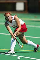 30 August 2005: Aska Sturdevan during Stanford's 5-1 loss to Delaware at the Varsity Turf Field in Stanford, CA.