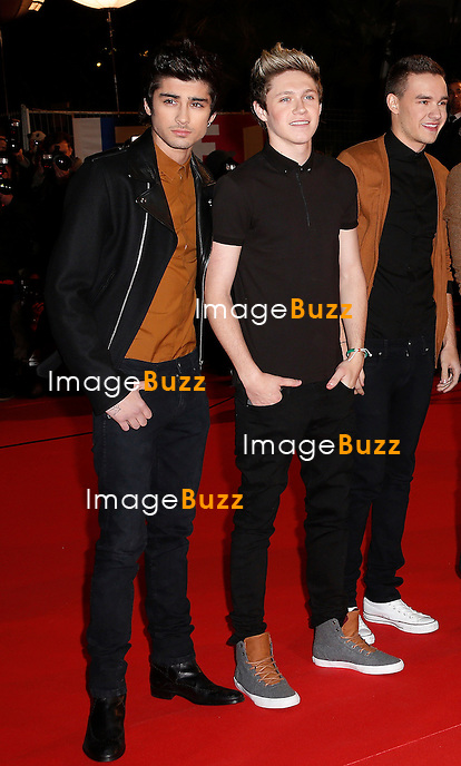 ONE DIRECTION/ January 26,, 2013- One Direction attends the NRJ Music Awards at Palais des Festivals in Cannes, France.