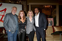 LOS ANGELES - FEB 2:  John McCook, Tracey Bregman, Katherine Kelly Lang, Thorsten Kaye at the Tracey Bregman 35th Anniversary on the Young and the Restless at CBS TV City on February 2, 2018 in Los Angeles, CA
