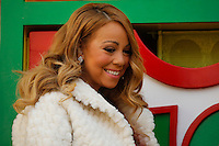 Singer Mariah Carey attends the 89th Macy's Thanksgiving Annual Day Parade in the Manhattan borough of New York.  11/26/2015. Eduardo MunozAlvarez/VIEWpress