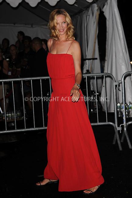 WWW.ACEPIXS.COM . . . . . .June 9, 2011...New York City...Uma Thurman enters the Stephan Weiss Studios on June 9, 2011 in New York City.  on June 9, 2011 in New York City.....Please byline: KRISTIN CALLAHAN - ACEPIXS.COM.. . . . . . ..Ace Pictures, Inc: ..tel: (212) 243 8787 or (646) 769 0430..e-mail: info@acepixs.com..web: http://www.acepixs.com .
