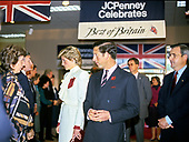 "Princess Diana and Prince Charles tour the ""Best of Britain"" merchandise display at the J.C. Penney department store in Springfield, Virginia on November 11, 1985. <br /> Credit: Jean-Louis Atlan / Pool via CNP"