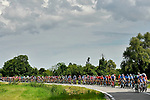 The peloton have an easy day during Stage 10 of the 2019 Giro d'Italia, running 145km from Ravenna to Modena, Italy. 21st May 2019<br /> Picture: Fabio Ferrari/LaPresse | Cyclefile<br /> <br /> All photos usage must carry mandatory copyright credit (© Cyclefile | Fabio Ferrari/LaPresse)