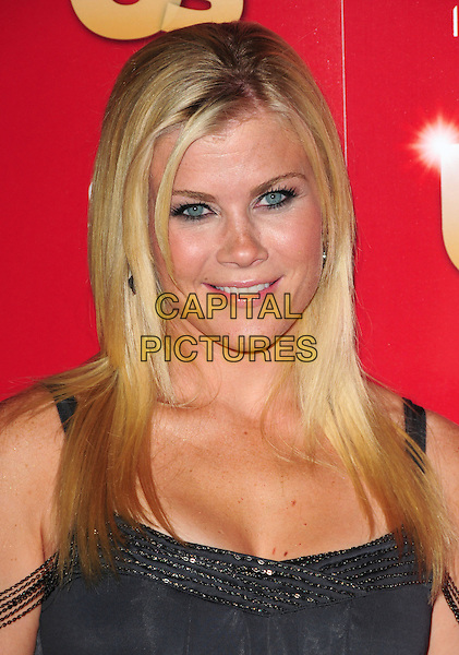 ALISON SWEENEY        .US Weekly's Hot Hollywood Party 2009 held at Voyeur, West Hollywood, California, USA. .November 18th, 2009.headshot portrait sequins sequined grey gray .CAP/RKE/DVS.©DVS/RockinExposures/Capital Pictures.