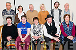 Mabel Counihan, Bryan O'Leary, Brid Sugrue, Ray O'Sullivan and Liz Ryan, Back L-R Jack Healy, Siobhan Mc Auliffe, Donal Hickey, Gemma Sugrue, Daniel Mc Carthy and Hugh Jordan at the Eamon Kelly Symposium in the GneeviguillaCultural Centre last Sunday.