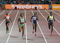 during the Sainsburys Anniversary Games Athletics Event at the Olympic Park, London, England on 24 July 2015. Photo by Andy Rowland.