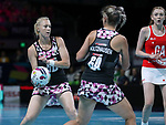 28/10/17 Fast5 2017<br /> Fast 5 Netball World Series<br /> Hisense Arena Melbourne<br /> England v Sth Africa<br /> Sanne Marie Pienaar<br /> <br /> <br /> <br /> <br /> Photo: Grant Treeby
