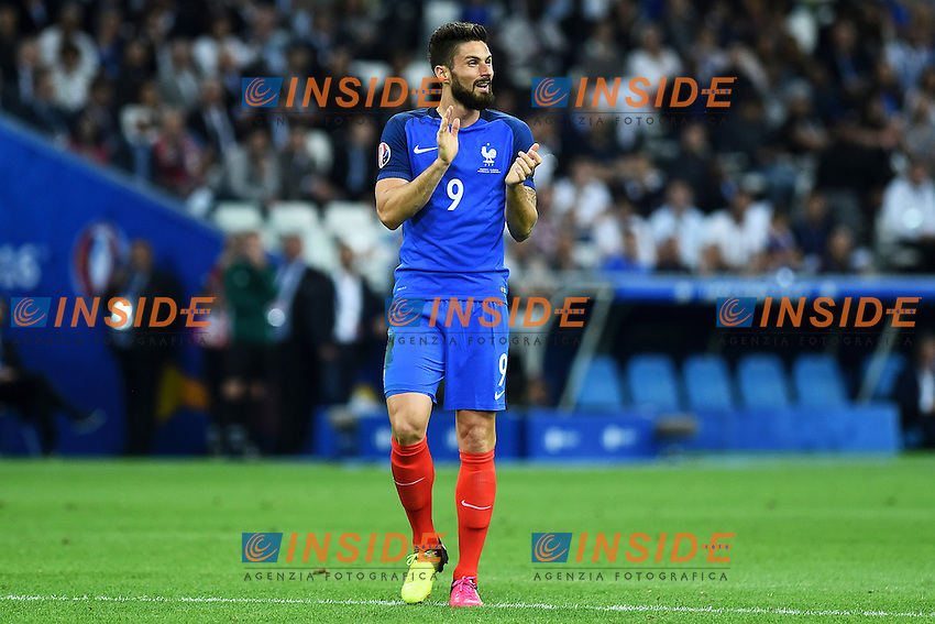 Olivier Giroud France <br /> Marseille 15-06-2016 Stade du Velodrome <br /> Football Euro2016 France - Albania / Francia - Albania Group Stage Group A<br /> Foto Massimo Insabato / Insidefoto