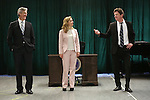 Tom Galantich, Kerry Butler and Duke Lafoon during the 'Clinton The Musical' - Sneak Peek at Ripley Grier Studios on March 4, 2015 in New York City.
