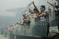 SÃO PAULO, SP, 06.12.2015 - CORINTHIANS-AVAI - Torcida do Corinthians durante partida contra o Avaí em jogo válido pela 38ª rodada do Campeonato Brasileiro 2015 na Arena Corinthians, em Itaquera, zona leste de São Paulo, neste domingo, 06. (Foto: Adriana Spaca/Brazil Photo Press)