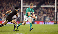 19th November 2016 | IRELAND vs NEW ZEALAND<br /> <br /> Andrew Trimble during the Autumn Series International clash between Ireland and New Zealand at the Aviva Stadium, Lansdowne Road, Dublin,  Ireland. Photo by John Dickson/DICKSONDIGITAL