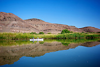 Reflections on the Orange River, Namibia