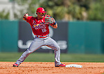4 March 2016: St. Louis Cardinals infielder Kolten Wong in action during a Spring Training pre-season game against the Houston Astros at Osceola County Stadium in Kissimmee, Florida. The Cardinals fell to the Astros 6-3 in Grapefruit League play. Mandatory Credit: Ed Wolfstein Photo *** RAW (NEF) Image File Available ***