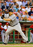 12 June 2006: Matt Holliday, outfielder for the Colorado Rockies, sets up at the plate during a game against the Washington Nationals at RFK Stadium, in Washington, DC. The Rockies defeated the Nationals 4-3 in the first game of the four game series...Mandatory Photo Credit: Ed Wolfstein Photo..