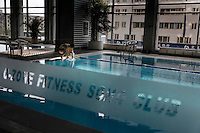 Pool at Ozone fitness Club. Contact is Lion Xie +86 135 0112 8414.General Contact is Evelyn +86 137 1896 4824