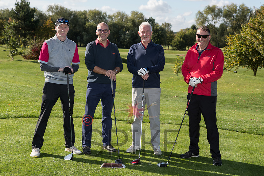From left are Nick Banks, Andy Churchill, Parry Legett and Dave Boultby of Team Earl & Pelham