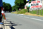 "People attend a human chain of 123 kilometres between the cities of Durango and Iruñea - Pamplona in the Basque Country with the slogan ""For the right to decide of the Basque Country - For a referendum on self determination"" on June 8, 2014, in Ormaiztegi. More than 100.000 people attend the protest organised by ""Gure esku dago"" (It´s in our hands) for the right to decide of the Basque Country. (Ander Gillenea / Bostok Photo)"
