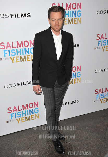 "Ewan McGregor at the US premiere of his new movie ""Salmon Fishing in the Yemen"" at the Directors Guild Theatre, West Hollywood..March 5, 2012  Los Angeles, CA.Picture: Paul Smith / Featureflash"