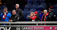 Lincoln City fans enjoy the pre-match atmosphere<br /> <br /> Photographer Chris Vaughan/CameraSport<br /> <br /> The EFL Sky Bet League Two - Mansfield Town v Lincoln City - Monday 18th March 2019 - Field Mill - Mansfield<br /> <br /> World Copyright © 2019 CameraSport. All rights reserved. 43 Linden Ave. Countesthorpe. Leicester. England. LE8 5PG - Tel: +44 (0) 116 277 4147 - admin@camerasport.com - www.camerasport.com