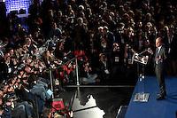 Pierluigi Bersani.Roma 26/02/2013 Comitato elettorale del Partito Democratico. conferenza stampa del Segretario sull'esito delle elezioni 2013..Press conference of the Secretary of Democratic Party about elections 2013..Photo Samantha Zucchi Insidefoto