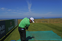 Carlos Pigem (ESP) on the 14th tee during the Preview of the Irish Open at Ballyliffin Golf Club, Donegal on Tuesday 3rd July 2018.<br /> Picture:  Thos Caffrey / Golffile