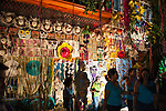 The home decorating contest in Sampaloc's Bulihan Festival was held at night this year.  There were over 160 homes competing using a combination of lighting and decorations made from buri or buri products.  Top prize this year was 15,000 Philippine pesos donated by the Buri Bag Project (which is over two months' salary for most Filipino skilled laborers).  (Sampaloc, Quezon Province, the Philippines)