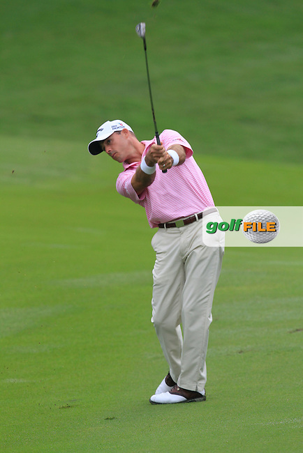 Jonathon Byrd (USA) on the 10th during Round 3 of the CIMB Classic in the Kuala Lumpur Golf &amp; Country Club on Saturday 1st November 2014.<br /> Picture:  Thos Caffrey / www.golffile.ie