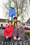 Margaret Gill, Orna Eccles and Mary Moriarty at the Launch of the  Slí na Sláinte Walking Route Projects in Killorglin on Tuesday