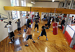 A full gym at Ring of Champions Society, Wednesday, July 20, 2011, on Main Street in Manchester. (Jim Michaud/Journal Inquirer)