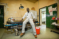 Doctor in Lui hospital. Central Equatoria, South Sudan.
