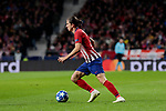 Atletico de Madrid's Filipe Luis during UEFA Champions League match between Atletico de Madrid and Borussia Dortmund at Wanda Metropolitano Stadium in Madrid, Spain. November 06, 2018. (ALTERPHOTOS/A. Perez Meca)
