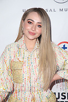 LOS ANGELES, CA - FEBRUARY 10: Sabrina Carpenter at theUniversal Music Group Grammy After party celebrating th  61st Annual Grammy Awards at tThe Row  in Los Angeles, California on February 10, 2019. Credit: Faye Sadou/MediaPunch