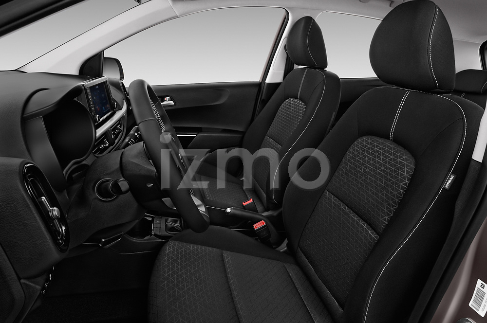 Front seat view of 2017 KIA Picanto Fusion 5 Door Hatchback front seat car photos