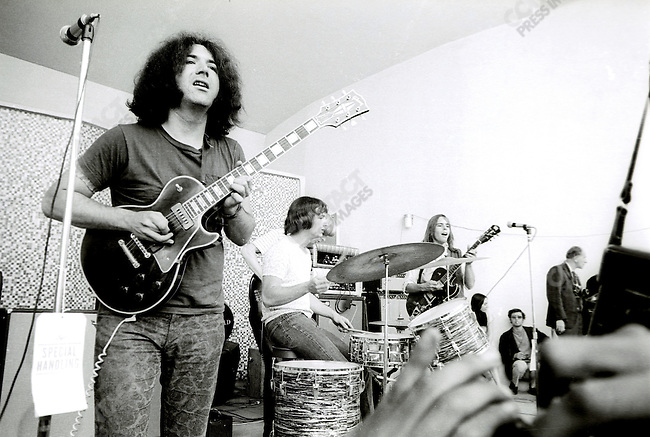 The Grateful Dead perform at Thompkins Square Park.  New York, NY 1/6/67