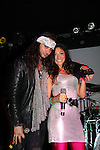 "The Canal Room celebrates its 10th Anniversary on September 16, 2013 starring The Bold and The Beautiful Constantine Maroulis ""Constantine Parros"" - American Idol and Rock of Ages as he performs with Jenna O'Gara at ""Back to the 80s Show with Jessie's Girl"".  (Photo by Sue Coflin/Max Photos)"