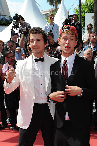 Shia LaBeouf, Raymond Coalson at the &acute;American Honey` screening during The 69th Annual Cannes Film Festival on May 15, 2016 in Cannes, France.<br /> CAP/LAF<br /> &copy;Lafitte/Capital Pictures /MediaPunch ***NORTH AND SOUTH AMERICA ONLY***