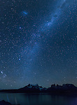 Torres del Paine NP by Night