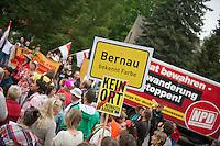 2013/05/18 Wandlitz | NPD vor Flüchtlingsheim Wandlitz