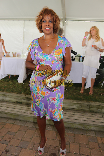 BRIDGEHAMPTON, NY - AUGUST 31: Gayle King at the 39th Annual Hamptons Classic Horse Show in Bridgehampton, New York on August 31, 2014.  <br /> CAP/MPI/mpi98<br /> &copy;mpi98/MediaPunch/Capital Pictures