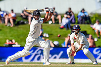 Colin De Grandhomme of the Black Caps during the final day of the Second International Cricket Test match, New Zealand V England, Hagley Oval, Christchurch, New Zealand, 3rd April 2018.Copyright photo: John Davidson / www.photosport.nz