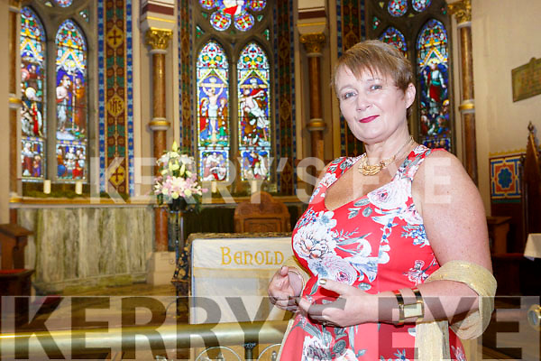 Killarney Soprano Mary Culloty O'Sullivan at her concert in St Mary's church Killarney on Friday night