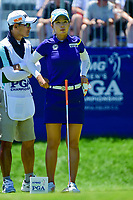 Chella Choi (KOR) prepares to tee off on 1 during Sunday's final round of the 2017 KPMG Women's PGA Championship, at Olympia Fields Country Club, Olympia Fields, Illinois. 7/2/2017.<br /> Picture: Golffile | Ken Murray<br /> <br /> <br /> All photo usage must carry mandatory copyright credit (&copy; Golffile | Ken Murray)