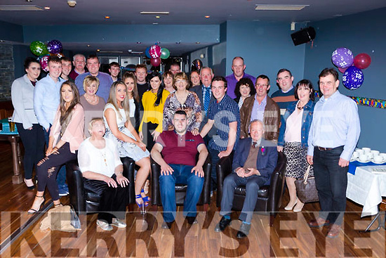 John McMahon Rossanean Currow celebrated his 21st birthday with his family and friends in McSorleys bar Killarney on Saturday night