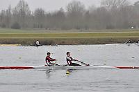 043 MarlowRC SEN.2‐..Marlow Regatta Committee Thames Valley Trial Head. 1900m at Dorney Lake/Eton College Rowing Centre, Dorney, Buckinghamshire. Sunday 29 January 2012. Run over three divisions.