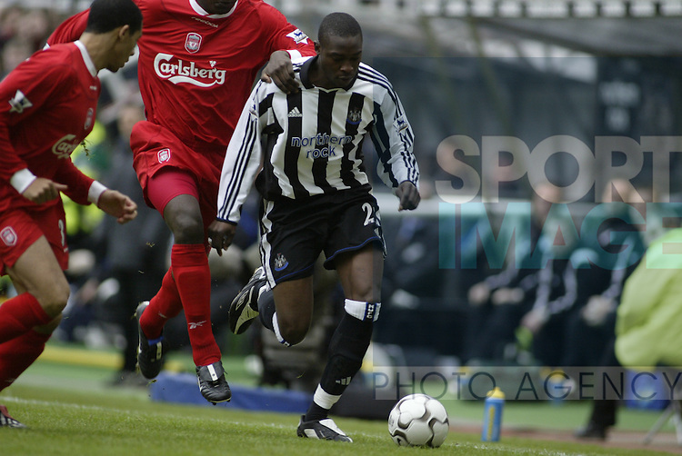 Premier League - Newcastle Utd vs Liverpool - St James' Park Stadium - Newcastle  - 6th December 2003 - Picture Simon Bellis/Sportimage