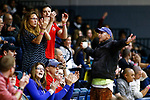 PENSACOLA, FL - DECEMBER 09: Florida Southern College fans cheer during the Division II Women's Volleyball Championship held at UWF Field House on December 9, 2017 in Pensacola, Florida. (Photo by Timothy Nwachukwu/NCAA Photos via Getty Images)