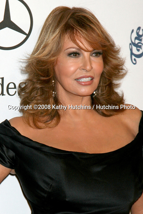 Raquel Welch arriving to the Carousel of Hope Ball at the Bevelry Hilton Hotel, in Beverly Hills, CA  on.October 25, 2008.©2008 Kathy Hutchins / Hutchins Photo...                .