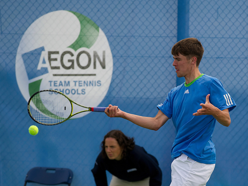 ..Tennis - AEGON Team Tennis Schools National Championships Finals - Graves Tennis Centre - Sheffield - Day 4 - Thursday 12th July 2012..