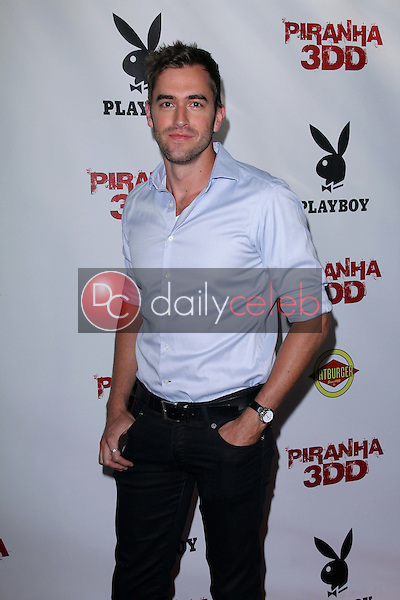 Adam J. Yeend<br /> at the &quot;Piranha 3DD&quot; Los Angeles Premiere, Chinese 6, Hollywood, CA 05-29-12<br /> David Edwards/DailyCeleb.com 818-249-4998
